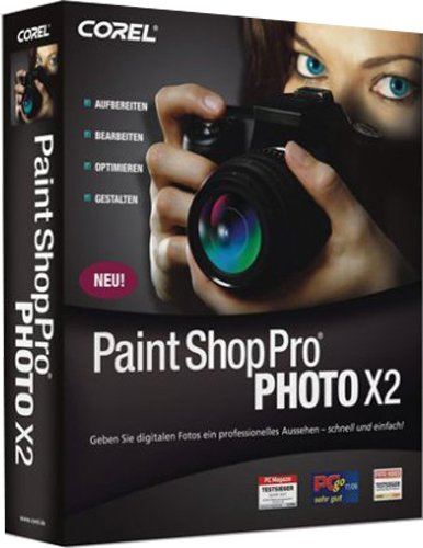 Corel Paint Shop Pro Photo X2 deutsch (CD-ROM)