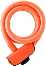 Gangkun auto, batterij, diefstalbeveiliging, kabelslot, soft lock, draagbaar oranje