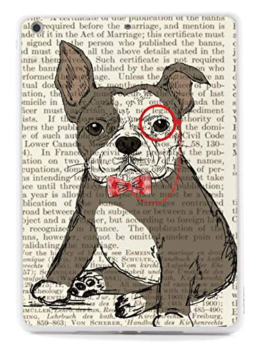 Inspired Cases - 3D Textured iPad Mini Case - Rubber Bumper Cover - Protective Tablet Case for Apple iPad Mini - Distinguished French Bulldog