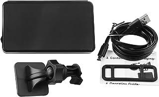 Romacci Visor universal HUD para cima, velocímetro GPS com alarme de velocidade excessiva Projeto de pára-brisa de aviso d...