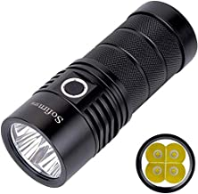 Flashlights,4*XPL2 6000LM Powerful LED Flashlight USB Rechargeable 18650 Multiple Operation Super Bright Torch Narsilm V1....