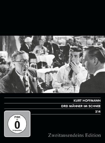 Drei Männer im Schnee. Zweitausendeins Edition Film 314.