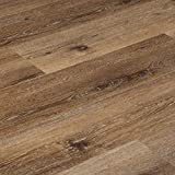 Vesdura Vinyl Planks - 8.5mm SPC Click Lock, Waterproof, Underpad Attached, Stain Resistant, Extra Wide Planks 9' - XL Ridge Collection-Gibraltar - Sample