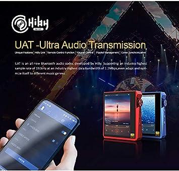 Black Hidizs AP80 PRO Portable Lossless MP3 Music Player Dual ESS9218P LDAC//aptX//FLAC//Hi-Res Audio//FM Radio DSD64//128 HiFi High Resolution Bluetooth Audio Player with Full Touch Screen