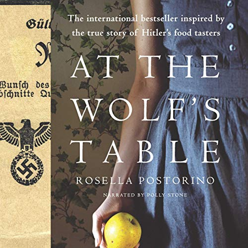 At the Wolf's Table audiobook cover art