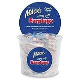 Mack's Ultra Soft Foam Earplugs, 100 Pair - 32dB Highest NRR,...
