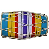 Dholak (Baby Size) mano Percussion Drum Indian Instrumento Musical....