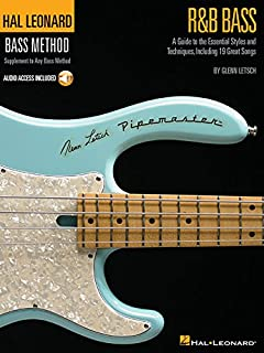 R&B Bass - A Guide to the Essential Styles and Techniques: Hal Leonard Bass Method Stylistic Supplement