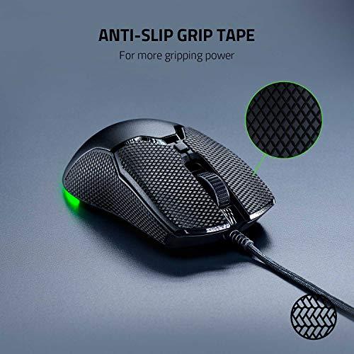 Razer Mouse Grip Tape für Razer Viper Mini (Rutschfest, Selbstklebend, Vorgeschnitten)
