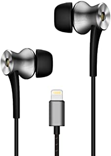 1MORE E1004 ANC-BLKDual Driver Active Noise Cancelling (ANC) In-Ear Headphones (Earphones/Earbuds) w/Lightning Connection, MFi Certified, and Built-in Mic for iPhone 7, iPhone 8, iPhone X, iPod