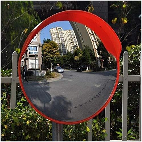 Espejo de seguridad convexo Espejo de tráfico Lente gran angular de tráfico al aire libre, Espejo de seguridad como un lugar de estacionamiento de garaje Espejo de exterior Pc Ajustable al aire libre