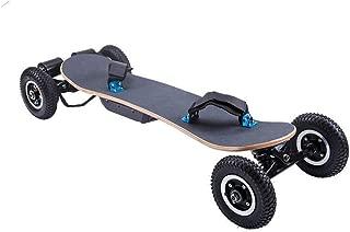 ARQANJ- Off-Road Skateboard Cruiser Extreme Sports Longboard Dual-Drive Intelligent Remote Control 1200W Power 8 Inch Large Tire Electric Four-Wheeled Skateboard 40km/h