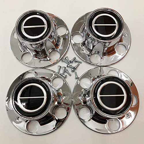 4PCS Replacement for Ranger Bronco II Explore Chrome Wheel Center Cap Hub Caps