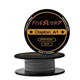 FogsLord Clapton Wire Kathal A1 Heat Resistance Wire Spool Braided Electronic Coil 15 ft. AWG 26GA+32GA