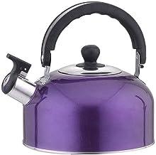 Yuffoo Czajnik do herbaty gwizdek na kuchenkę, trwała butelka na gwizdek ze stali nierdzewnej 3 l, lekki czajnik czajnicze...