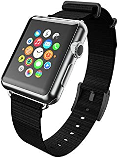 Incipio Carrying Case for Apple Watch 42MM - Retail Packaging - Black/Black Buckle
