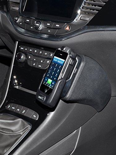 KUDA 2525 Halterung Kunstleder schwarz für Opel Astra K ab 2015 - (große Aufnahme)