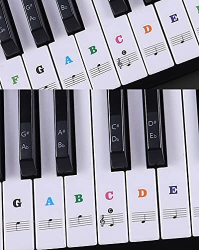 Top 10 Best piano keys stickers Reviews