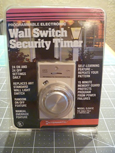 Intermatic EJ341C Programmable 24-Hour Security Timer