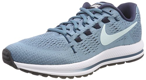 Nike Women's WMNS Air Zoom Vomero 12 Running Shoes, Blue (Cerulean/Thunder Blue/Space Blue/Glacier Blue), 3.5 UK 36.5 EU