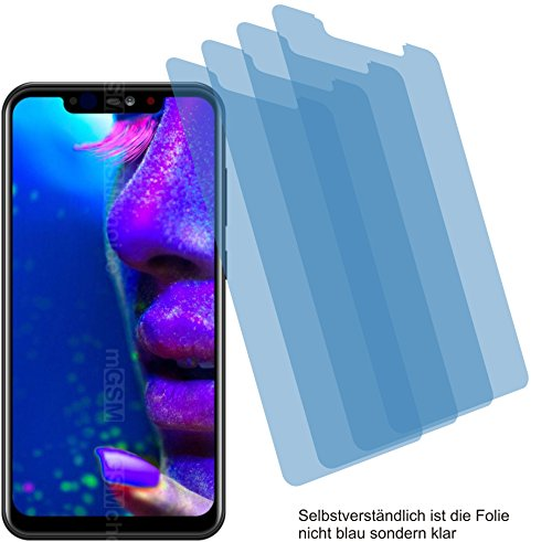 4ProTec I 4X ANTIREFLEX matt Schutzfolie für Allview Soul X5 Pro Bildschirmschutzfolie Displayschutzfolie Schutzhülle Bildschirmschutz Bildschirmfolie Folie