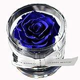 「ブリリアントS 青いバラ」感動が続く枯れない本物のバラ プリザーブドフラワー 誕生日 記念日 結婚祝 プロポーズ (青いバラ)