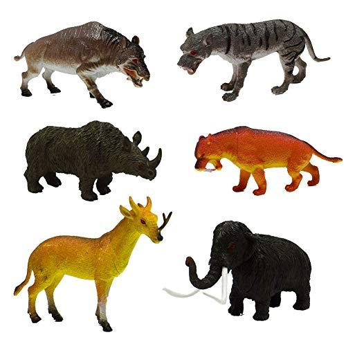 Feli546Bruce - Dinosaurier & prähistorische Kreaturen für Kinder in one color, Größe Gemischte Farbe