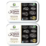 ORGANICALI Kimia Dates 1kg,Pack of 2, Fresh Instant Energy & Immunity Booster Packs,100% Natural, Hand Picked selection