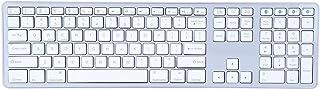 Wireless Keyboard, Smart Power Saving Ultra-Thin Bluetooth Keyboard, for PC/Laptop/Tablet
