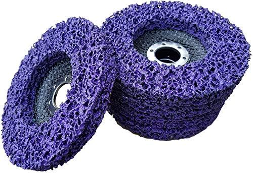 5 x Rostio CSD Scheibe 115 mm Lila | purple für Winkelschleifer | Flex