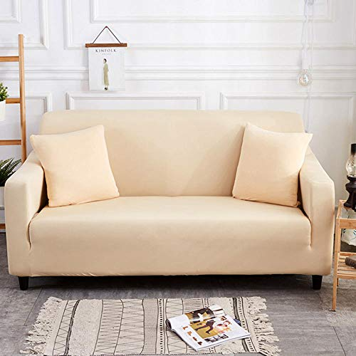 HXTSWGS Protector de Muebles Ajustable,Living Room Sofa Cover 1 2 3 4 Seat Cover, Stretch Fabric Sofa Protection Cover, Sofa Seat cover-Color34_90-140cm