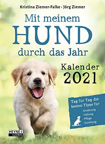 Mit meinem Hund durchs Jahr – Kalender 2021: Tag für Tag die besten Tipps für Ernährung, Haltung, Pflege, Erziehung - Tages-Abreißkalender 11,0 x 15,0 cm