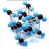 MKULOUS Modelos Moleculares Química, Modelo de Estructura cristalina de dióxido de Carbono, para Maestros Estudiantes Científico