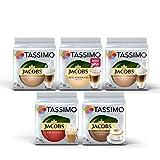 Tassimo Jacobs Lovers Sortenpackung Kaffeekapseln - Tassimo Jacobs Latte Macchiato, Latte Macchiato...