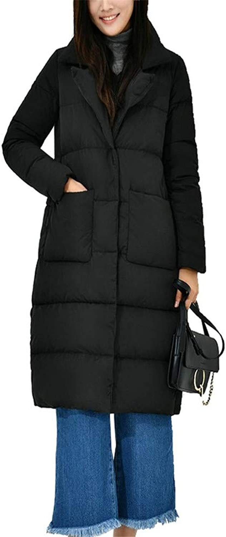 Dotoo Winter Ultra Light Duck Down Ladies Collar Loose Warm Down Jacket Coat