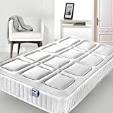 <span class='highlight'>Memory</span> <span class='highlight'>Foam</span> <span class='highlight'>Spring</span> <span class='highlight'>Mattress</span> Budget High Density <span class='highlight'>Foam</span> Comfort Sprung <span class='highlight'>Mattress</span> with Square Pattern Vacuum Rolled Packed (<span class='highlight'>3FT</span> <span class='highlight'>Single</span> <span class='highlight'>Size</span> 90cm x 190cm)