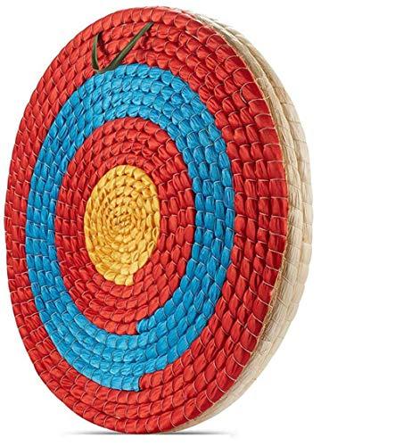 Poooooi Dianas, Deportes al Aire Libre Blanco de Disparo para Caza Tiro con Arco Target Board Paja Hierba Flecha Objetivo Productos DE Paja,1layers