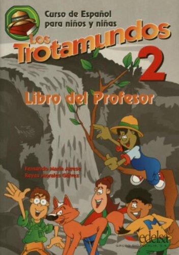 Los trotamundos 2, Educación Infantil. Libro del profesor: Teacher's Book de Fernando Marín Arrese (1 jun 1999) Tapa blanda