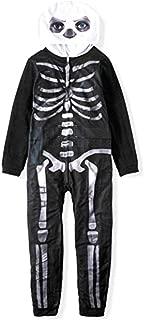 Fortnite Youth Unisex Zippered Skull Trooper Union Suit Costume