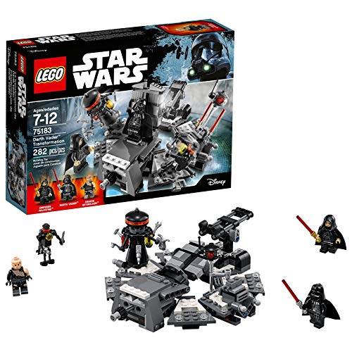 LEGO Star Wars Darth Vader Transformation 75183 Baukastens Mehrfarbig