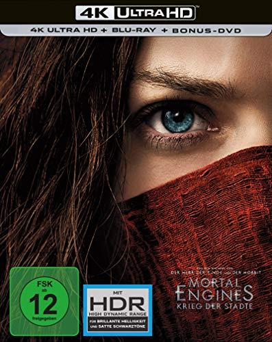 Mortal Engines Krieg der Städte 4K UHD + BD Steelbook [Blu-ray]