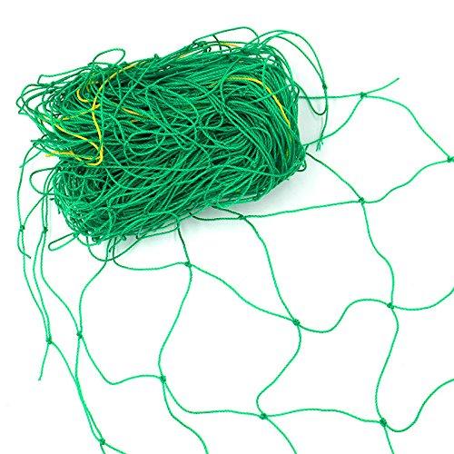 KINGLAKE 3,6 x 1,8 m Ranknetz Rankhilfe Pflanzennetz Stütznetz Gartennetz für Kletterpflanzen