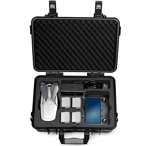 LEKUFEE Custodia Rigida Impermeabile con Inserto in Schiuma per DJI Mavic 2 PRO e DJI Smart Controller[Nicht Enthalten Drohne]