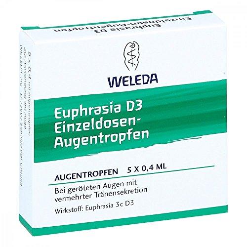WELEDA Euphrasia D3 Einzeldosen-Augentropfen, 5 St. Einzeldosispipetten