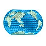XIAOWANG Dekompressionsspielzeug Jumbo Fidget Spielzeug riesige 30 cm Weltkarte Puzzle simpe Simple...