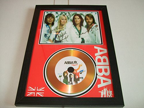 Abba Signed Gold Disc