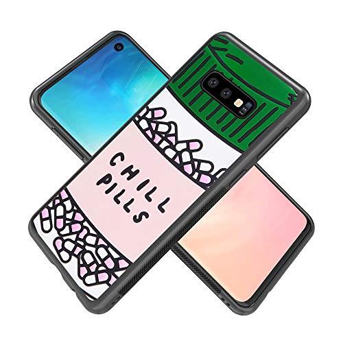 Samsung Galaxy S10e case Chill Pills Full Body Case Cover Screen Protector Heavy Duty Protection case Shockproof case for Samsung Galaxy S10e