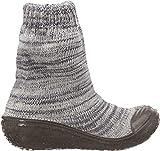 Playshoes Unisex-Kinder Socke gestrickt Hohe Hausschuhe, Grau (Grau 33), 20/21 EU