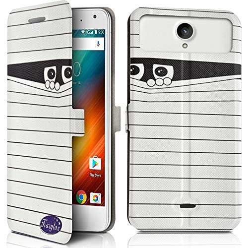 Karylax - Funda protectora para smartphone Elephone A6 Mini, diseño SC04 (Ref.3-A)