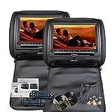 Eincar 9 pouces HD 800 * 480 R¨¦solution Double ¨¦crans jumeaux de voitures 2 PCS...
